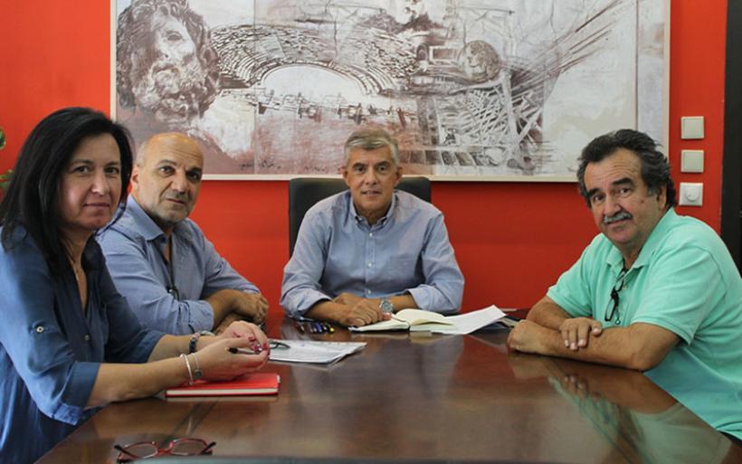 Με το νέο Δήμαρχο Αλμυρού Βαγγέλη Χατζηκυριάκο συναντήθηκε ο Περιφερειάρχης Θεσσαλίας Κώστας Αγοραστός