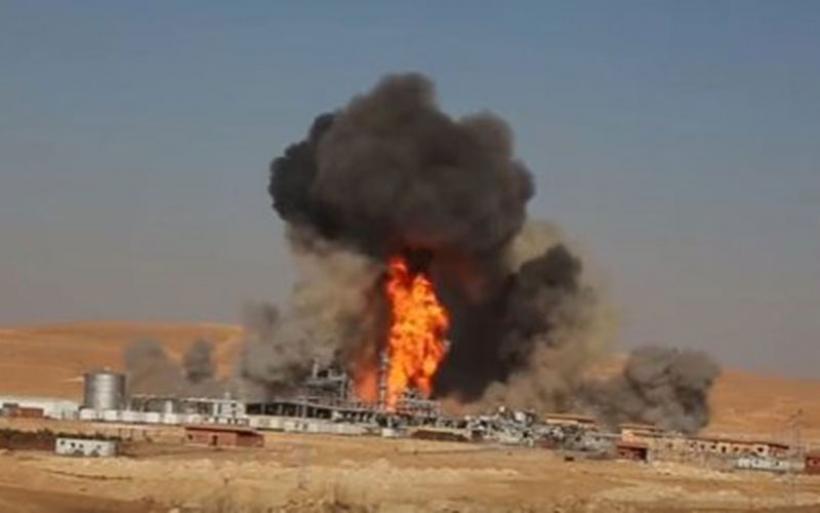 Το Ισλαμικό Κράτος ανατίναξε σταθμό φυσικού αερίου που προμήθευε το 1/3 της ενέργειας της Συρίας