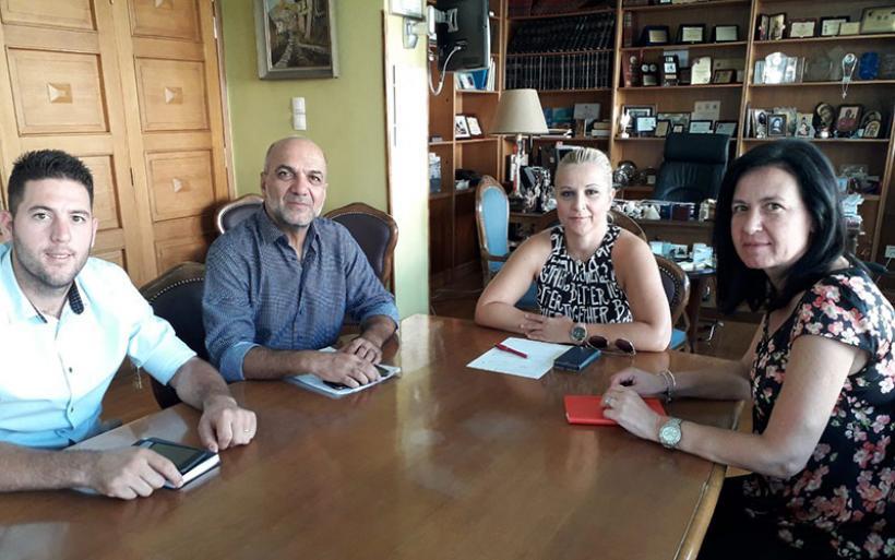 Επίσκεψη Βαγ. Χατζηκυριάκου στη Δ. Κολυνδρίνη -Σε τροχιά υλοποίησης νέα έργα στο Δήμο Αλμυρού