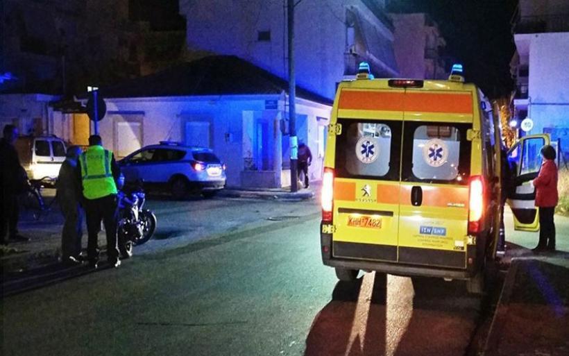 Βόλος: Ελαφρύς τραυματισμός γυναίκας οδηγού δικύκλου σε τροχαίο