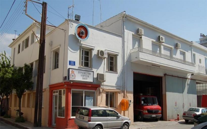 Κινητοποίηση της Πυροσβεστικής Βόλου για μεταφορά υπέρβαρης