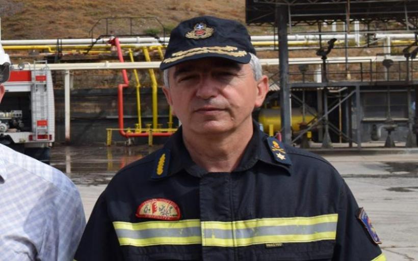 Αποστρατεύτηκε ο Περιφερειάρχης της Πυροσβεστικής στη Θεσσαλία Κων. Σκούπρας