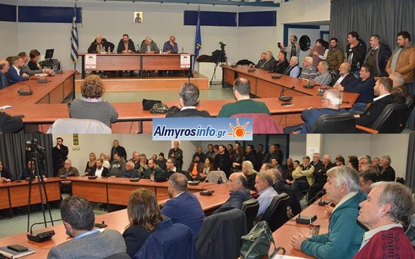 Πολιτική εκδήλωση του ΣΥΡΙΖΑ στον Αλμυρό για τα προβλήματα των αγροτών (βίντεο&φωτο)