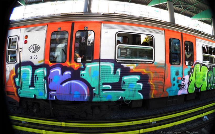 Τραγωδία στο Θησείο: Πέθανε από ηλεκτροπληξία την ώρα που έκανε γκράφιτι