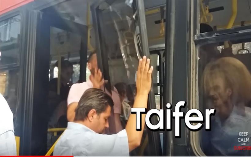 Σοκ στη Θεσσαλονίκη: Έσπασαν πόρτες λεωφορείου του ΟΑΣΘ ενώ ήταν εν κινήσει