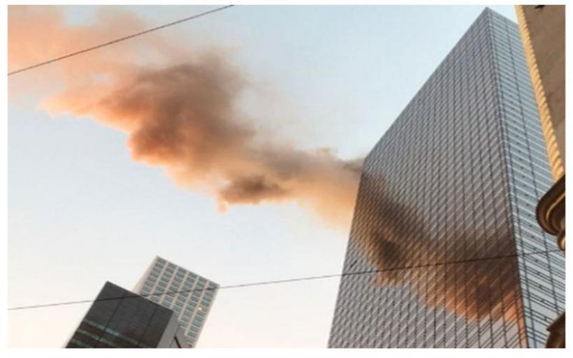 Φωτιά στον Πύργο Τραμπ- Δύο τραυματίες