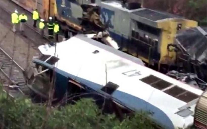 ΗΠΑ: Σύγκρουση τρένων με 2 νεκρούς, 50 τραυματίες