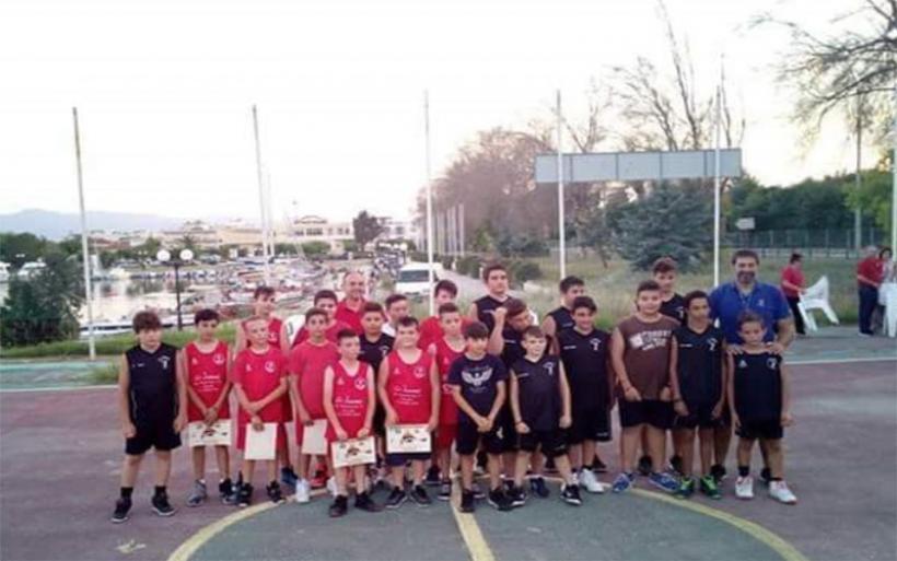 Συμμετοχή αθλητών της Ακαδημίας των Τιτάνων Αλμυρού στο 1ο καλοκαιρινό τουρνουά Γ.Σ.Βόλου (Ν.Αγχιάλου)