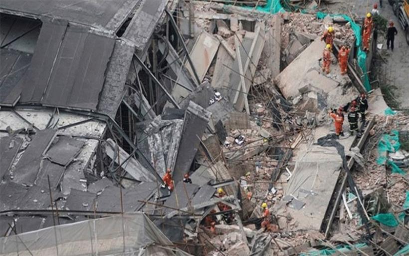 Κατέρρευσε κτήριο στη Σαγκάη - Τουλάχιστον επτά νεκροί