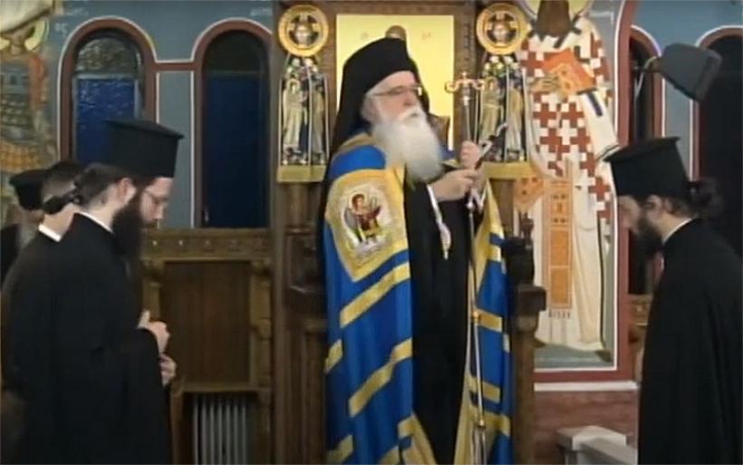 Η Ακολουθία της Β' Στάσης των Χαιρετισμών στον Ι.Ν. Ευαγγελισμού της Υπεραγίας Θεοτόκου Αλμυρού (βίντεο)