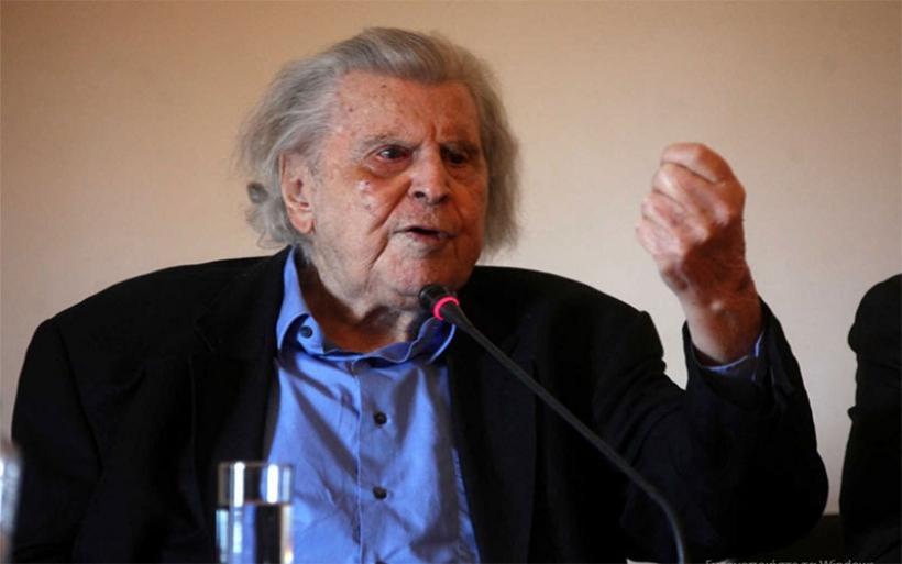 Μίκης Θεοδωράκης: Η κυβέρνηση ΣΥΡΙΖΑ-ΑΝΕΛ είναι η δεξιότερη από το 1831 ως σήμερα!