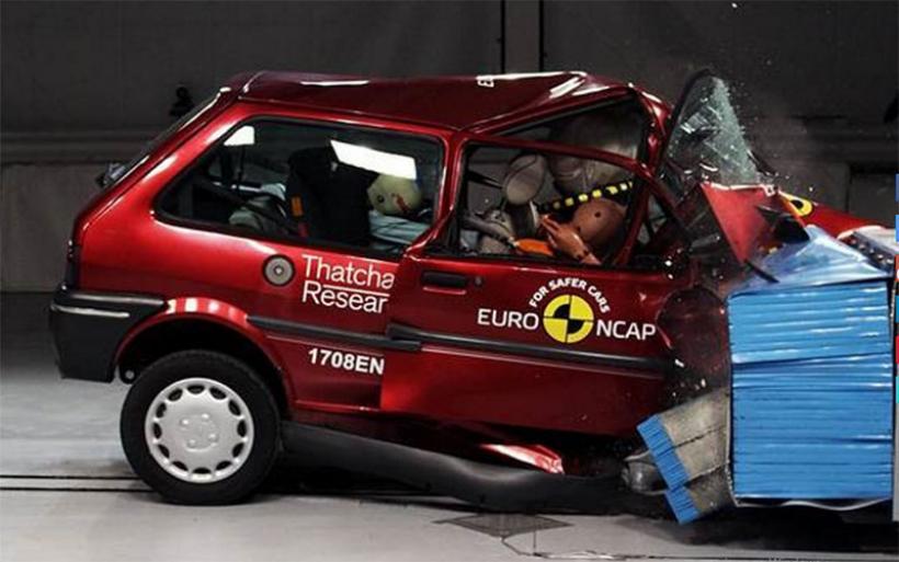 Ανατριχιαστικό βίντεο από crash test του οργανισμού EuroNCAP