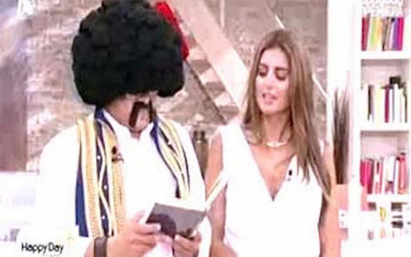 Γέλια μέχρι δακρύων! Ο τσολιάς της Ελληνοφρένειας στην πρεμιέρα του Happy Day