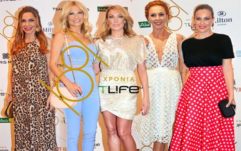 Οι celebrities στο μεγάλο party για τα οχτώ χρόνια του TLIFE