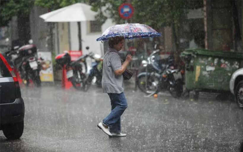 Εκτακτο δελτίο επιδείνωσης καιρού -Ερχονται βροχές και καταιγίδες