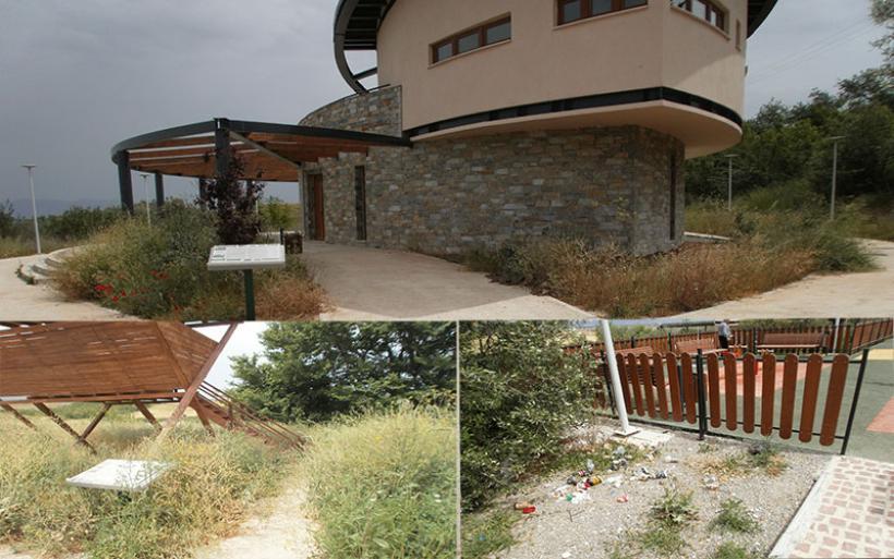 Εν Δράσει: Πλήρης εγκατάλειψη του περιβαλλοντικού κέντρου στα Ζερέλια