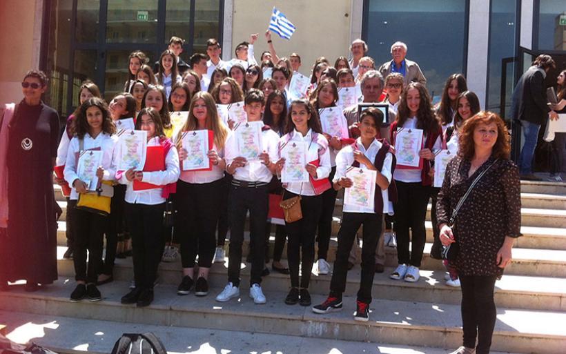 Μαθητές των Γυμνασίων Αλμυρού και Ν. Αγχιάλου μάγεψαν την Ευρώπη