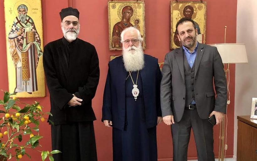 """Συνεργασία Μητρόπολης Δημητριάδος με """"Πρόταση Ζωής"""" συζητήθηκε στην συνάντηση Ιγνάτιου-Ζιγγιρίδη"""