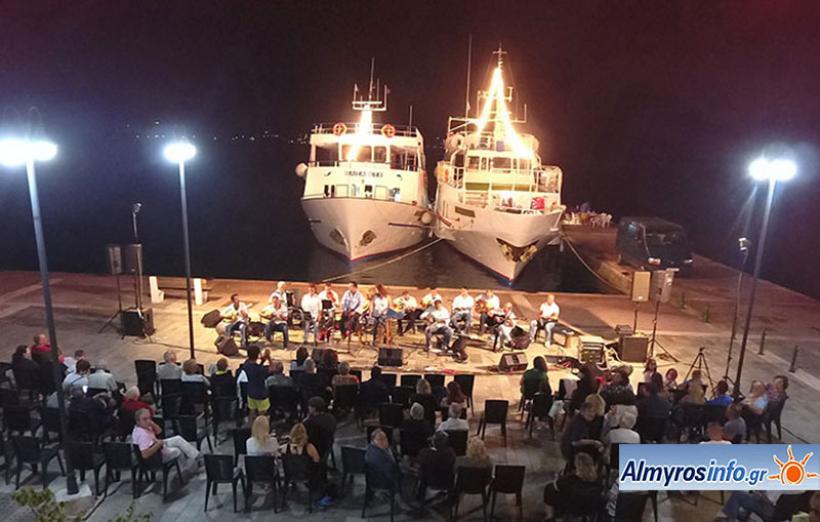 Μουσική βραδιά στο Αχίλλειο με το Σύλλογο Φίλων Μουσικής Αλμυρού «το Ρεμπέτικο» (βίντεο&φωτο)