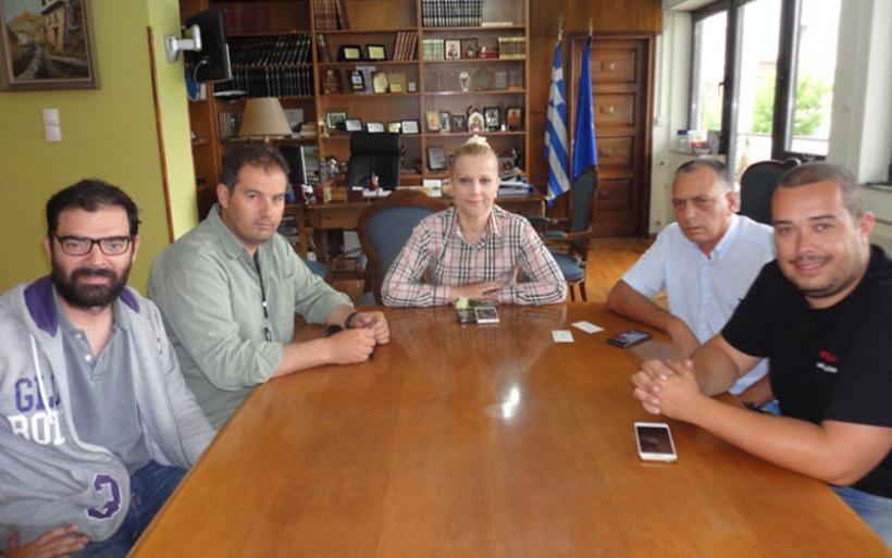 Την Αντιπεριφερειάρχη επισκέφθηκε το νέο Δ.Σ. του Σωματείου Εκπαιδευτών Υποψηφίων Οδηγών Ν. Μαγνησίας