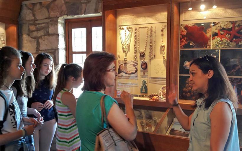 Εκπαιδευτική επίσκεψη Γυμνασίου Ευξεινούπολης στο Μουσείο Θαλάσσης Αχιλλείου
