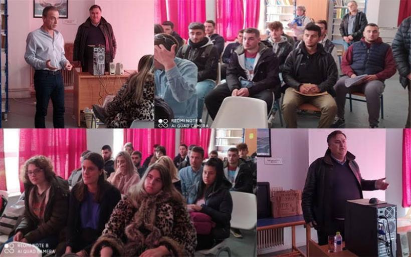 Ενημερωτική εκδήλωση στο πλαίσιο μαθητείας του ΕΠΑΛ Αλμυρού