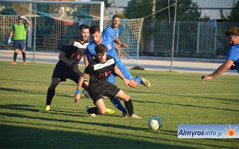 Ο Γ.Σ.Αλμυρού 1-0 τον Απόλλωνα Λάρισας σε φιλικό (φωτογραφίες)