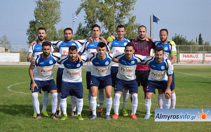 Σημαντικό διπλό ο Γ.Σ. Αλμυρού 0-2 την Ακρόπολη