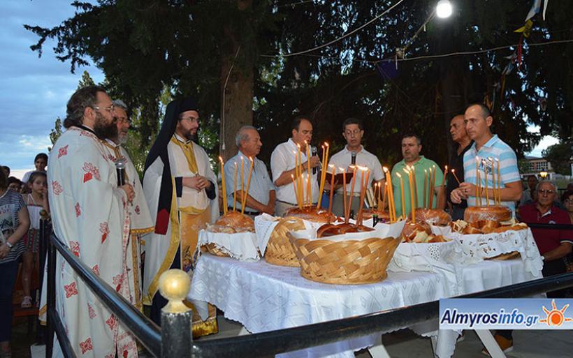 Πλήθος πιστών για τον εορτασμό των Αγ. Αναργύρων στον Αλμυρό (φωτο&βίντεο)