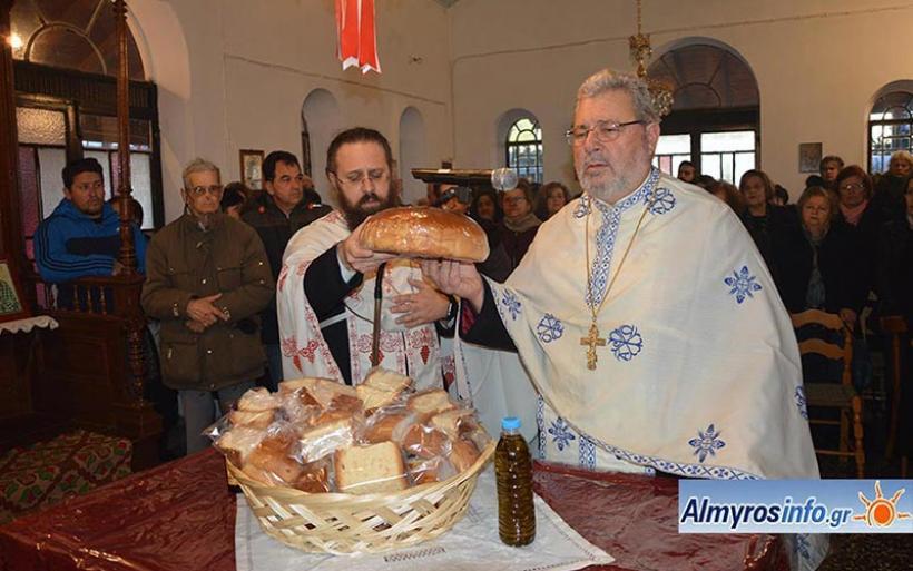 Ο εορτασμός του Αγίου Τρύφωνος στον Αλμυρό (βίντεο&φωτο)