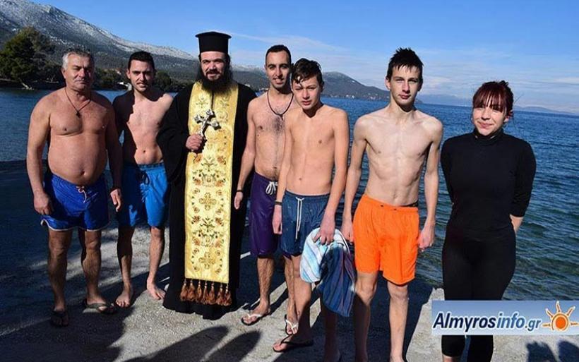 Ο εορτασμός των Θεοφανείων στην Σούρπη και ο Καθαγιασμός των Υδάτων στις Νηές (βίντεο&φωτο)