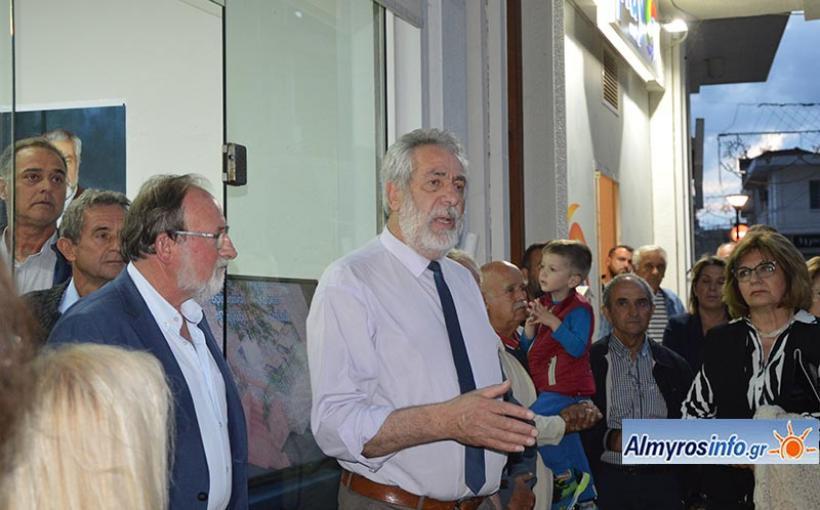Δηλώσεις Δημ. Εσερίδη μετά το εκλογικό αποτέλεσμα στο Δήμο Αλμυρού (βίντεο&φωτο)