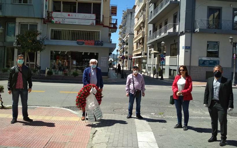 Ο ΣΥΡΙΖΑ Μαγνησίας τίμησε την Εργατική Πρωτομαγιά