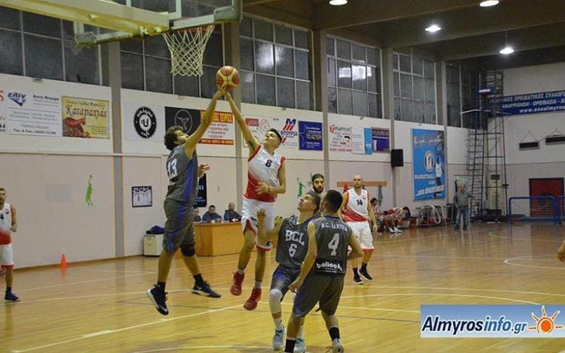 Τιτάνες Αλμυρού - ΒC Larissa  42-57 για την 1η αγωνιστική της Β' ΕΣΚΑΘ (φωτο)