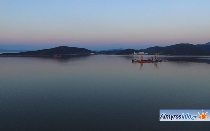 Συγκέντρωση βιομηχανικών μονάδων με λιμενικές εγκαταστάσεις στον Αλμυρό προβλέπει το χωροταξικό Θεσσαλίας