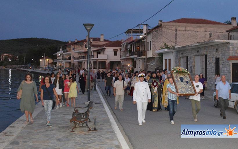 Την γιορτή των Αγ. Πάντων και την έλευση & ενθρόνιση της Ι. Εικόνας της Παναγίας Ελεούσας τίμησε η Αμαλιάπολη (βίντεο&φωτο)