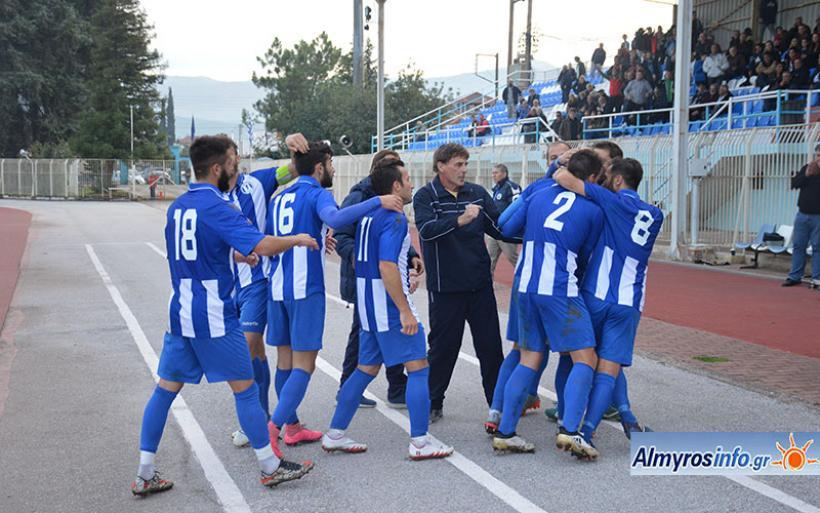 Στις νίκες επέστρεψε ο Γ.Σ.Α. 2-0 τον Αχιλλέα Φαρσάλων- Αποτελέσματα και βαθμολογία