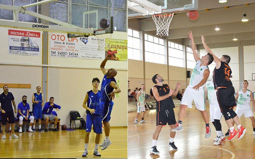 Εντός έδρας αγωνίζονται οι ομάδες μπάσκετ Γ.Σ.Αλμυρού και Δήμητρας