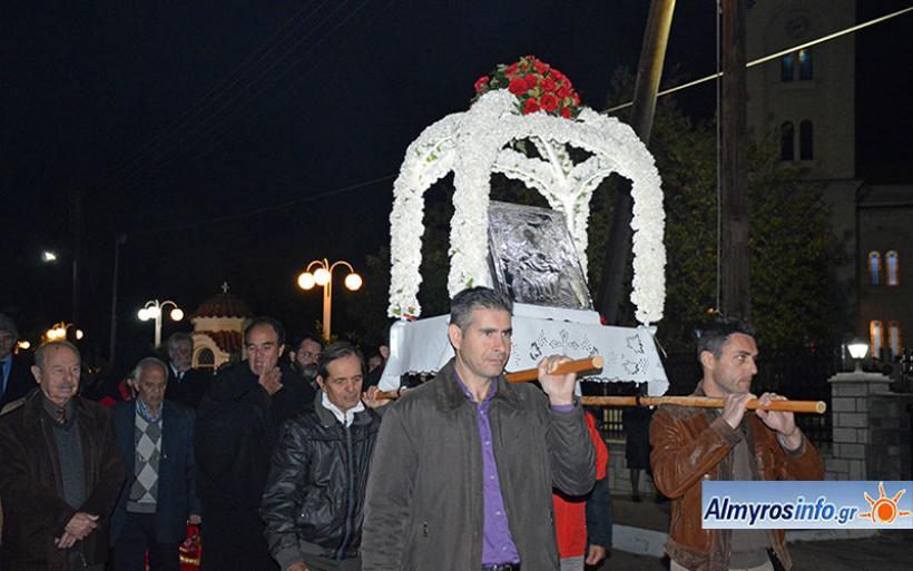 Λαμπρός ο εορτασμός του Αγίου Νικολάου στον Αλμυρό (βίντεο&φώτο)