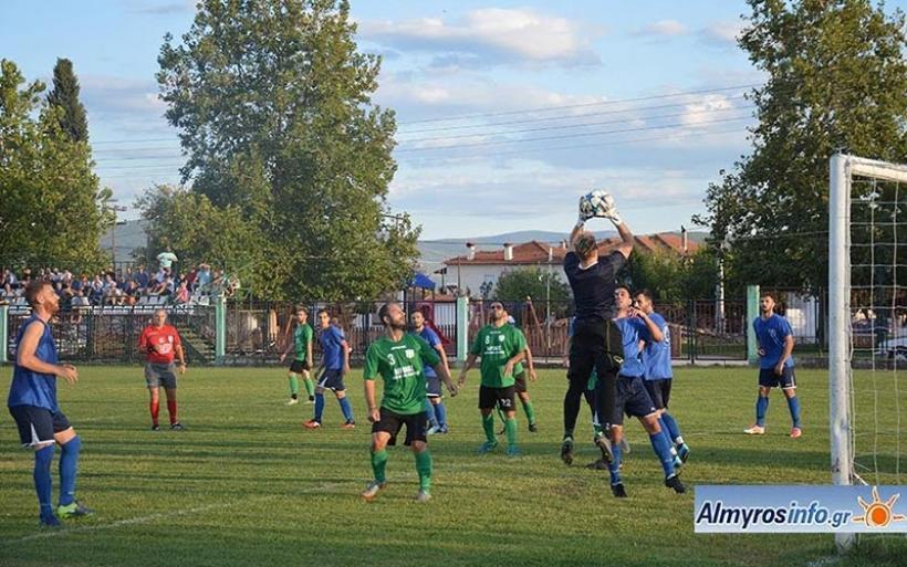 Η Δήμητρα επικράτησε με 2-1 του Ρήγα σε φιλικό παιχνίδι (φωτο)