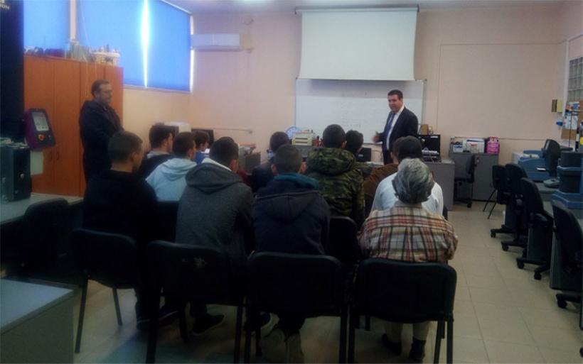 Διδακτική επίσκεψη μαθητών του ΕΠΑΛ Αλμυρού στο ΤΕΙ Θεσσαλίας στη Λάρισα