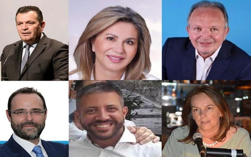Μπουκώρος, Ζ. Μακρή, Λιούπης, Μαραβέγιας (ΝΔ) και Μεϊκόπουλος, Παπανάτσιου (ΣΥΡΙΖΑ) η εξάδα βουλευτών (ενσωμάτωση 43%)