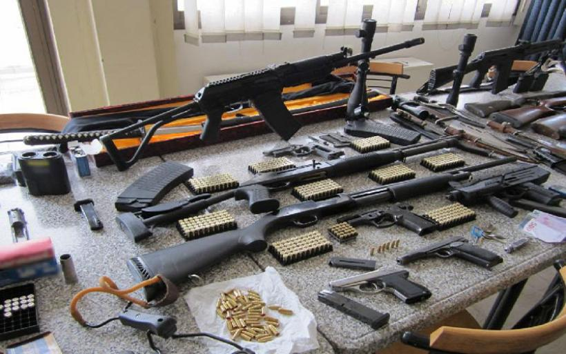 Άδειασαν «οπλοστάσιο» από το δικαστικό μέγαρο Bόλου