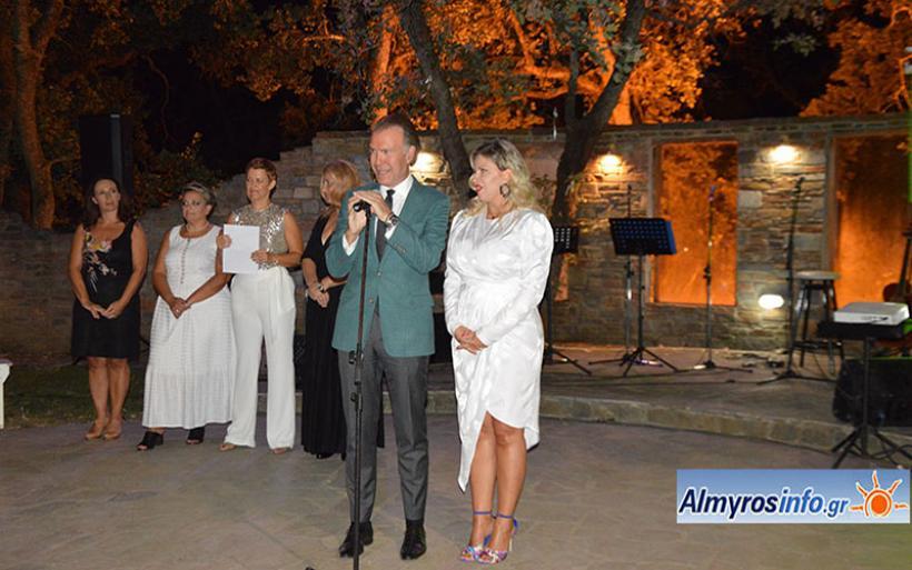 Φιλανθρωπική μουσική βραδιά του Συλλόγου Φλόγα στον Αλμυρό (φωτογραφίες)