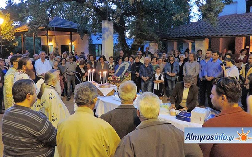 Τον προστάτη του Άγιο Σεραφείμ τίμησε ο Κυνηγετικός Σύλλογος Αλμυρού (φωτο)