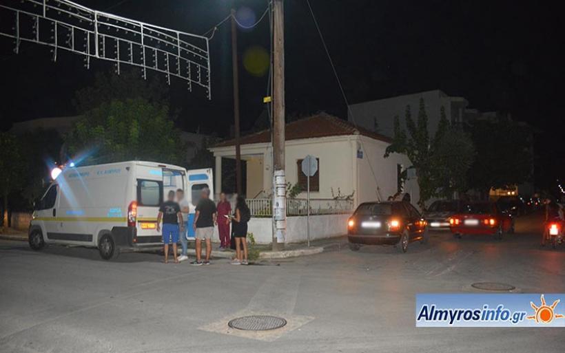Αλμυρός: Δύο τροχαία στο ίδιο σταυροδρόμι μέσα σε 3 ημέρες (φωτο)