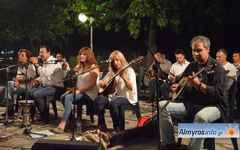 """Ρεμπέτικη βραδιά στο Κρόκιο  με τον Σύλλογο φίλων μουσικής το """"ΡΕΜΠΕΤΙΚΟ"""" (βίντεο&φωτο)"""
