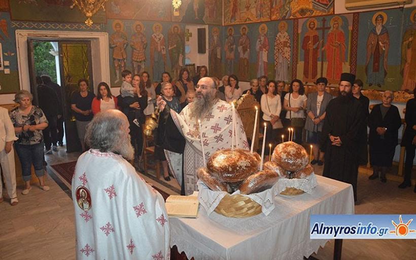 Τη μνήμη των πολιούχων Αγίων Κωνσταντίνου & Ελένης τίμησε η Γαύριανη (βίντεο&φωτο)