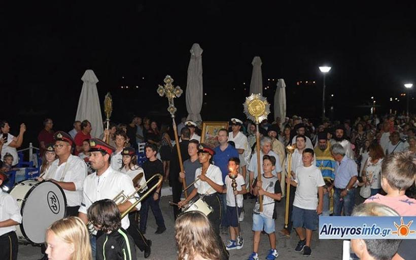 Λαμπρός ο εορτασμός της Μεταμορφώσεως του Κυρίου στην Αμαλιάπολη (φωτο)
