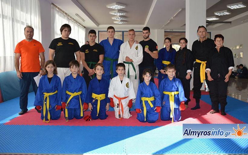 Εσωτερικό πρωτάθλημα πολεμικών τεχνών από τον Σύλλογο Εναλλακτική Δράση στην Ν. Αγχίαλο (φωτο)